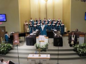 Choir Easter Sunday