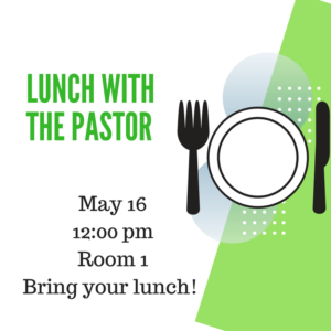 Lunch the Pastor @ Room 1