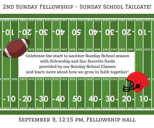 2nd Sunday Fellowship