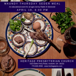 Maundy Thursday @ Fellowship Hall