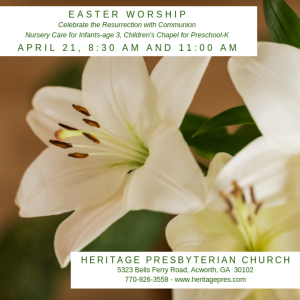 Easter Worship with Communion